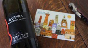ボローニャでワインを買いました。Barbera di …Bologna!